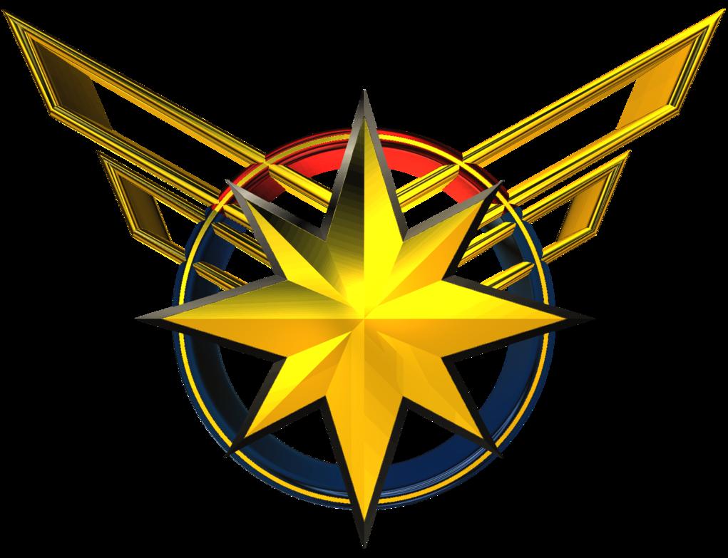 Captain Marvel Logo Gambar Karakter Gambar