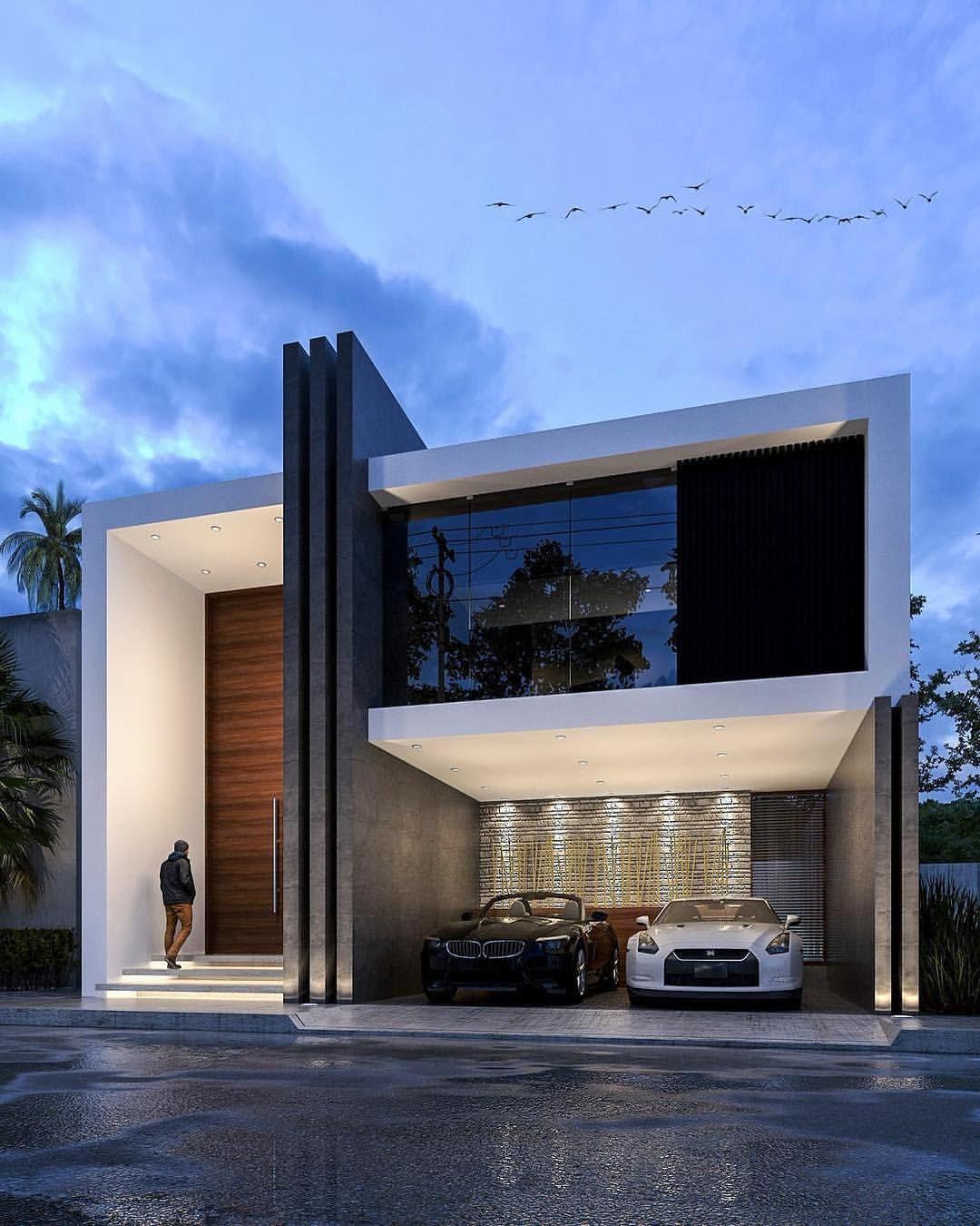 Arquitectura Fachadas De Casas Modernas Casas Modernas: Olivos House Designed By JPR Architecture Location: #puebla #mexico #luxury #luxuryhome