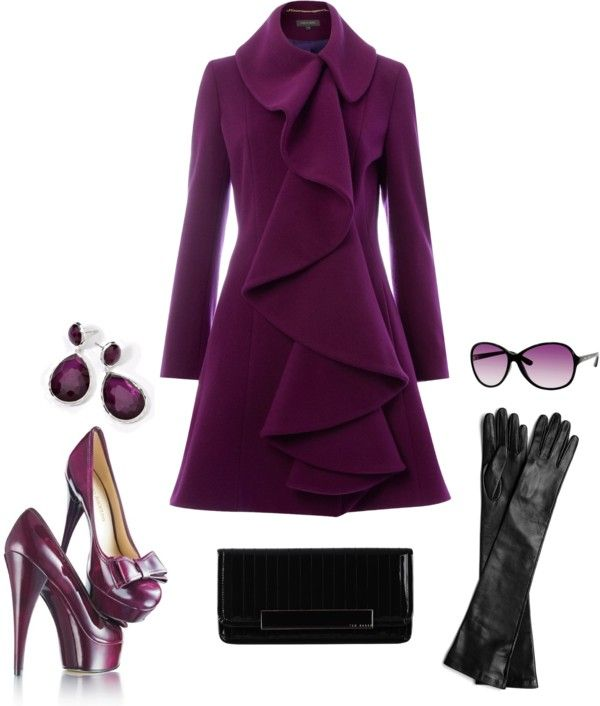 """Violet"" by inoru-on on Polyvore"