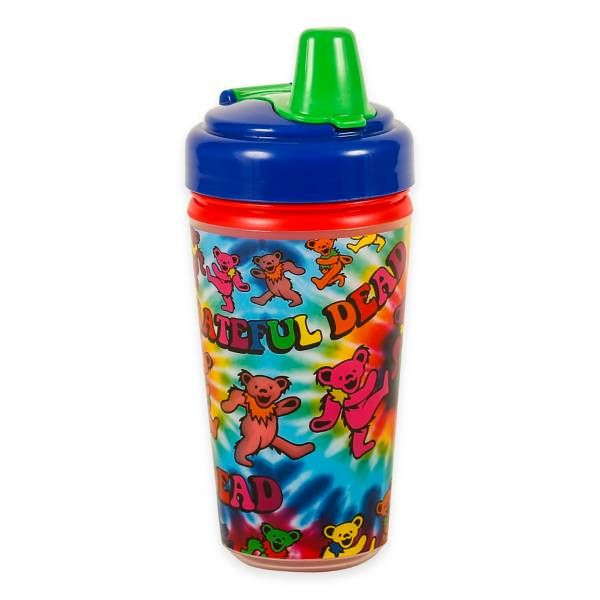 Daphyls Grateful Dead Tie Dye Insulated Sippy Cup Sippy Cup Baby Cups Cup Decorating