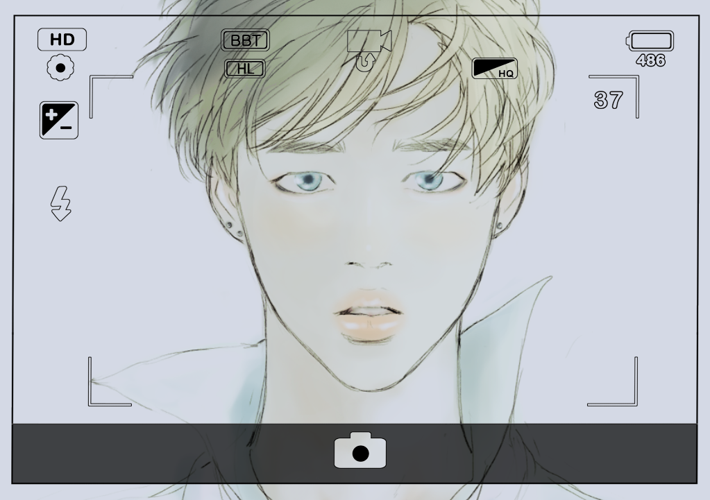 Jimin Lie Drawing