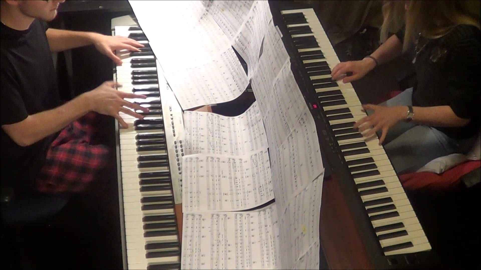 Disney Beauty and the Beast Belle for Piano Duet FT
