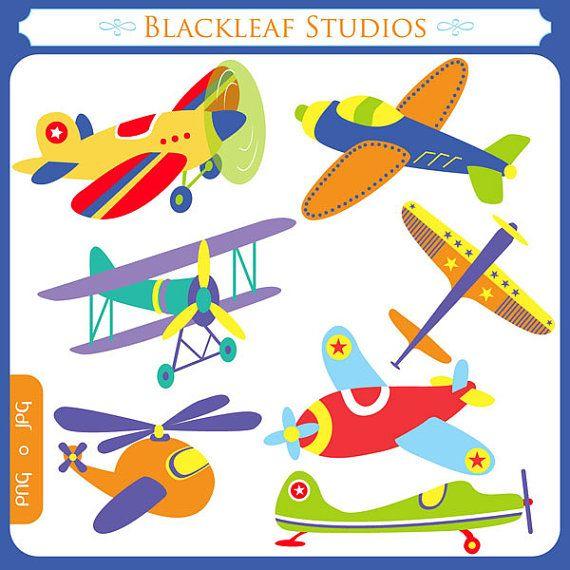 flying high airplanes clipart set digital download images scrapbook rh pinterest com airplane clipart border airplane clipart cartoon
