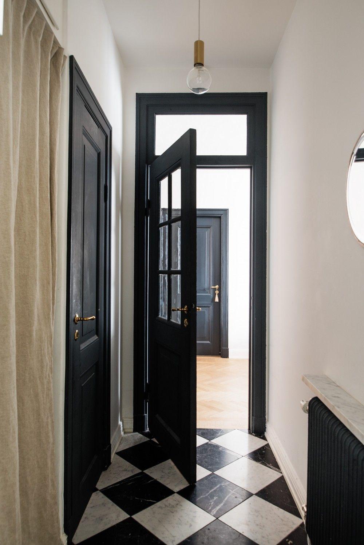 svarta dörrar | Inredning | Pinterest | Dörrar, Drömhem och Inredning