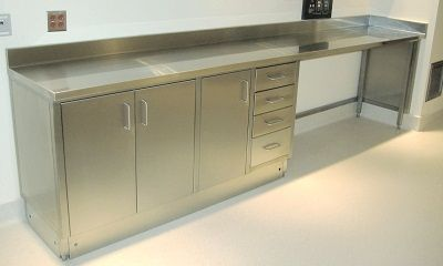 Stainless Steel Base Cabinets for kitchen Standard ...