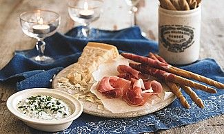 Prosciutto Grissini with Parmesan Dip - https://www.yeovalley.co.uk/our-recipes/recipe/proscuitto-grissini-with-parmesan-dip