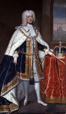 Portrait of George II by Charles Jervas, circa 1727