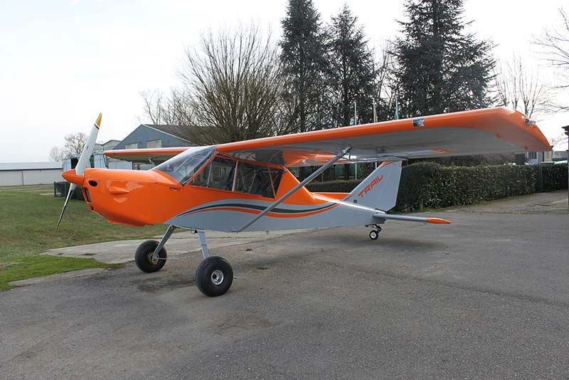 All Metal Folding Wing Groppo Trail Now Available In U S In 2020 Kit Planes Light Sport Aircraft Air Show