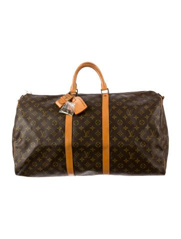 d876ddc203ef Louis Vuitton Keepall Bandouliere 55. Louis Vuitton Keepall Bandouliere 55  Louis Vuitton Keepall