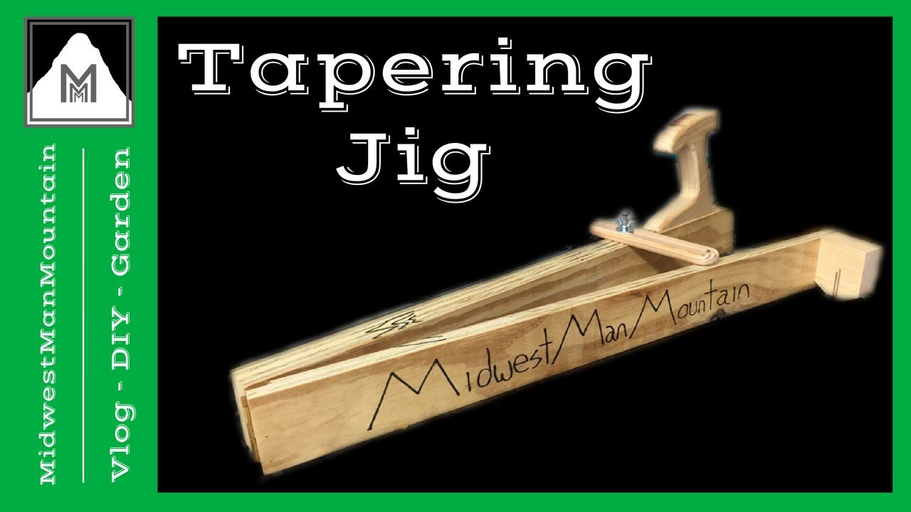 How to Make a Tapering Jig 𝕄𝕄𝕄 136