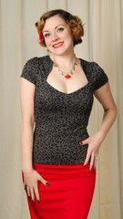 Steady Clothing Gray Leopard Sophia Top available in SM MD LG XL XXL (1X) XXXL (2X) XXXXL (3X)