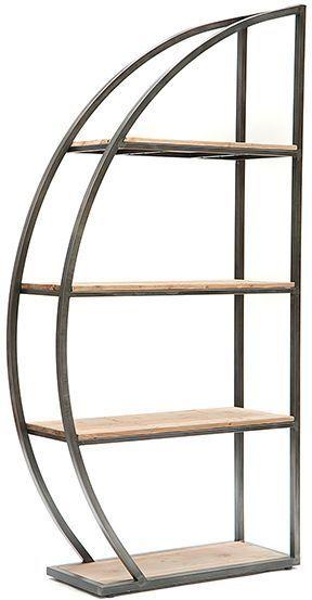 Willis And Gambier Revival Leytonstone Book Shelf Metal Furniture Industrial Furniture Iron Furniture