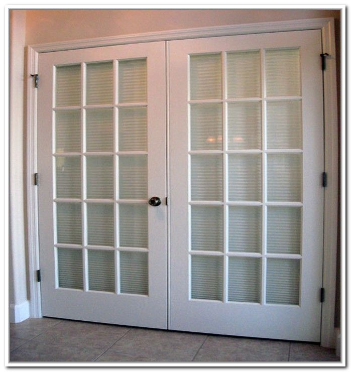 french doors with blinds. French Doors Exterior With Built In Blinds Photo - 1 R