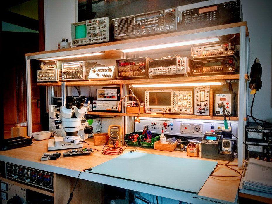 Electronics Workbench Electronics Hobby In 2019