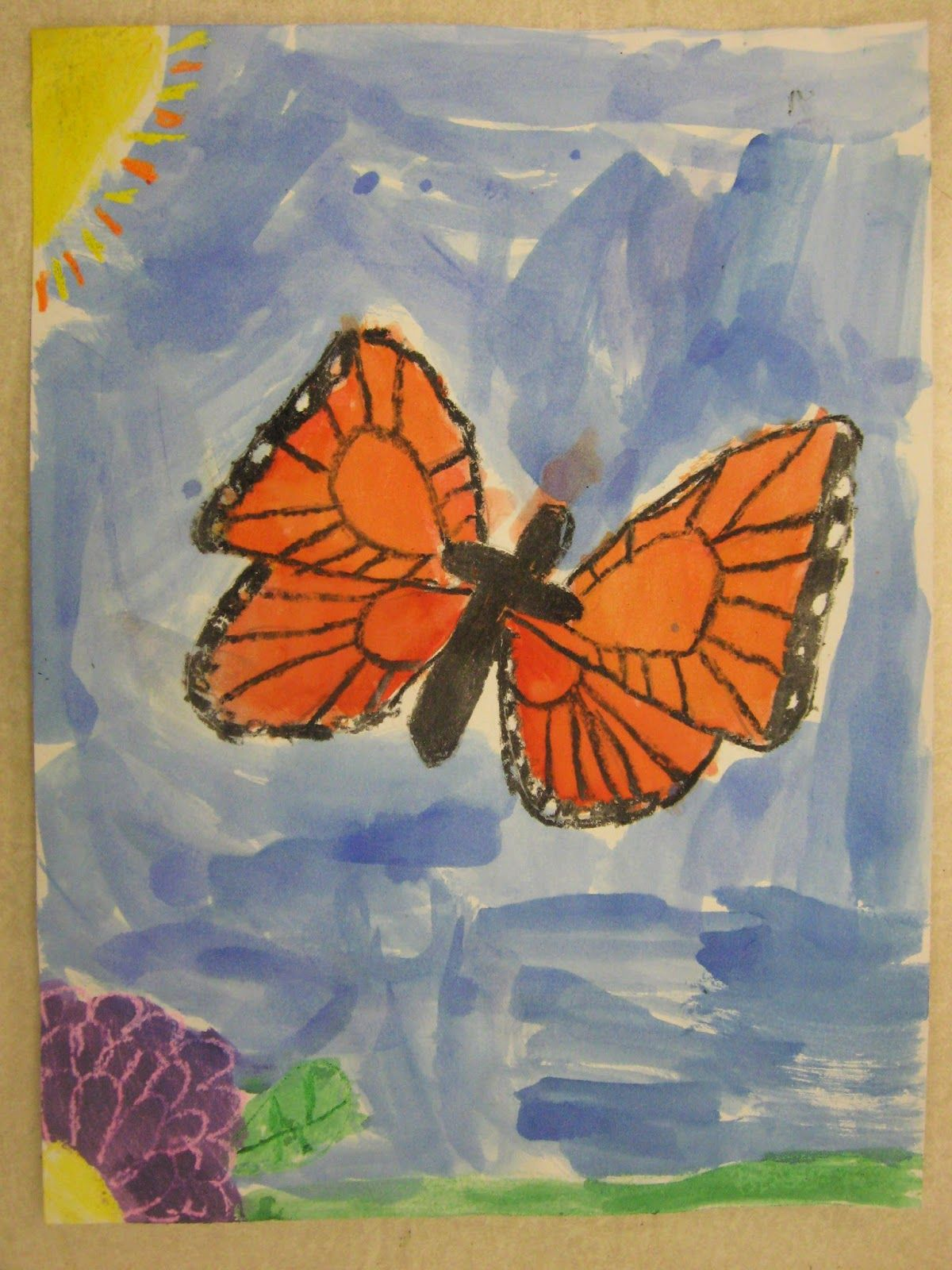1st Grade Monarch Butterflies With Images
