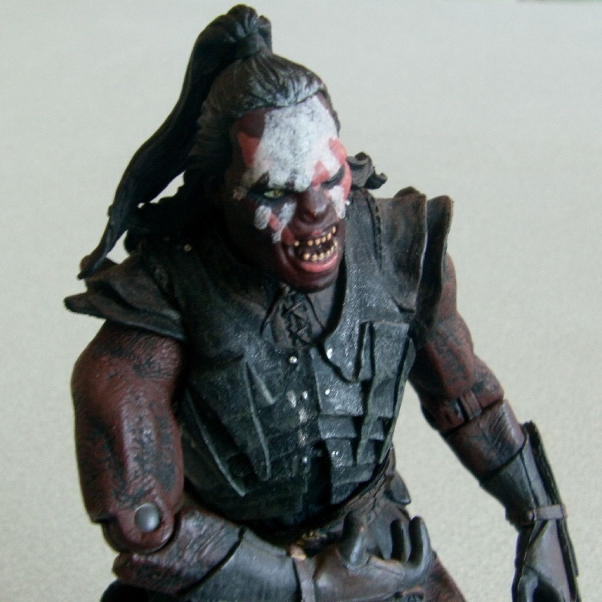 lord of the rings lurtz uruk hai action figure loose action figures best action figures lord lord of the rings lurtz uruk hai action