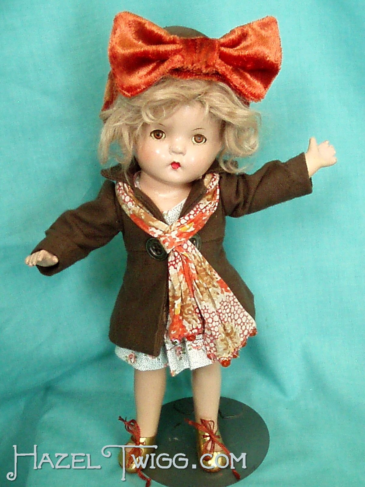 ANGEL, a Hazel Twigg vintage composition doll.