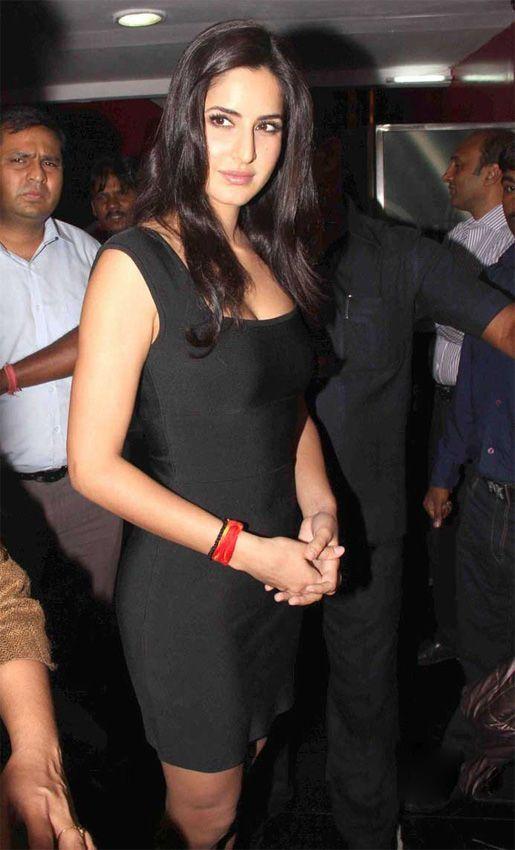 Katrina Kaif in Tight Black Dress | dresses | Pinterest