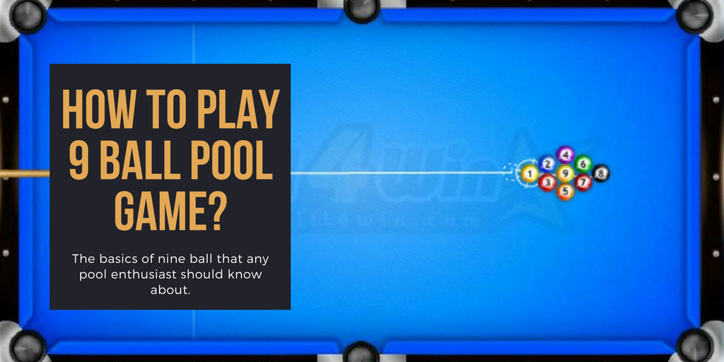 9 Ball Pool Is The Most Played Format Of Billiards And This Game Is Used As The Main Variant In Most Of The Billiards Tournaments W Pool Games Pool Balls Games