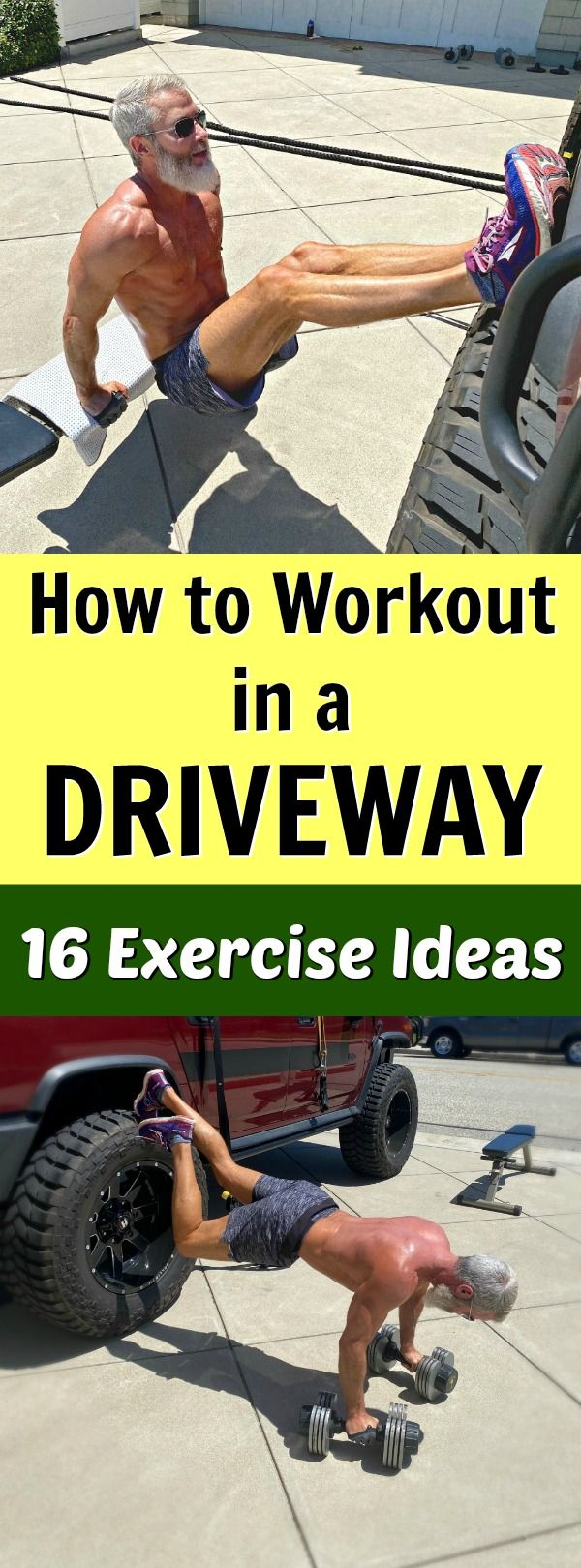 Workout in Your Driveway. Try These Exercises.