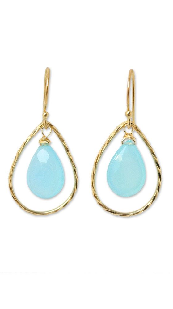 Gold Plated Dangle Earrings, 'Empress' by Novica