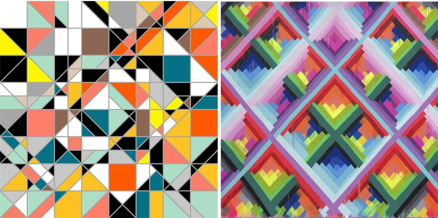 Geometric Abstract Art Today The Return To The Angular