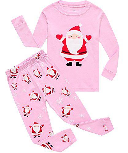 2465b5a010e2 IF Pajamas Christmas Baby Girls Pjs 100 Cotton Long Sleeve Newborn ...