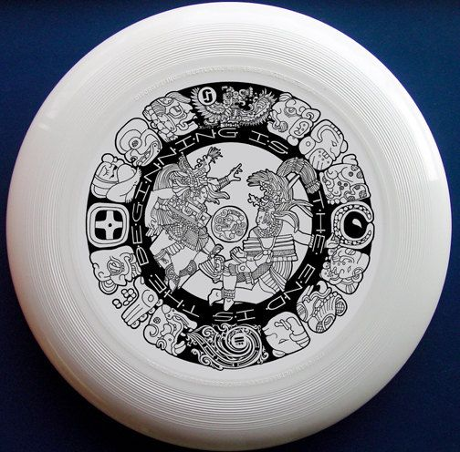 Mayan Design - Regulation Ultimate Frisbee Discs (Discraft 175g) Limited Run (50 Total) - Now With Free Shipping