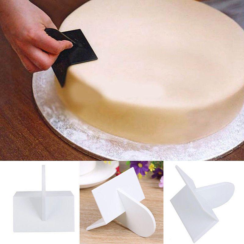Cake Decorating Smoother Tool Sugarcraft Icing Fondant Polisher Finisher #3