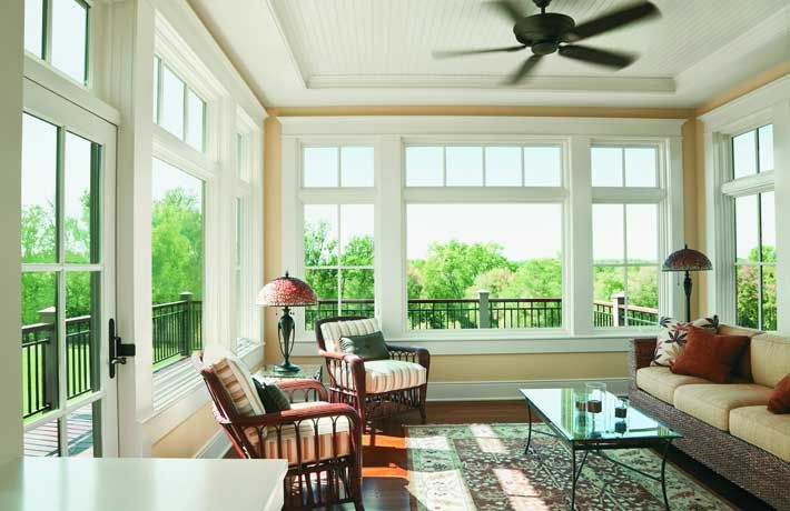 A Series Casement Picture Transom Windows With A Series