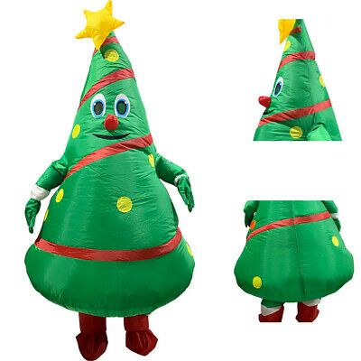 Halloween Funny Inflatable Christmas Tree Costume Party Cosplay Fancy Dress New Affilink Hallow Christmas Tree Costume Tree Costume Inflatable Christmas Tree