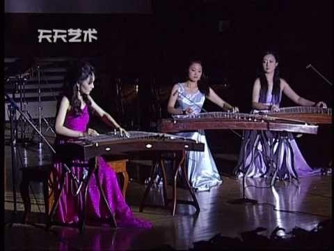 古箏,雙箏伴奏:月兒高 Traditional GuZheng music: The Cresting Moon - YouTube