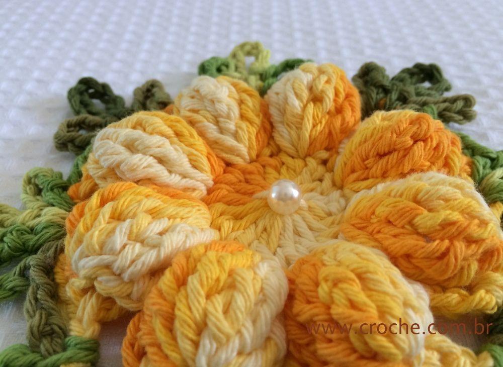 Crochet Beautiful Daisy - Tutorial