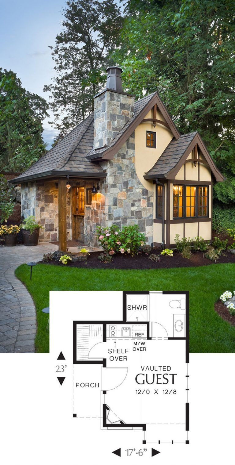 Small 2 Bedroom Tudor Cottages Plans