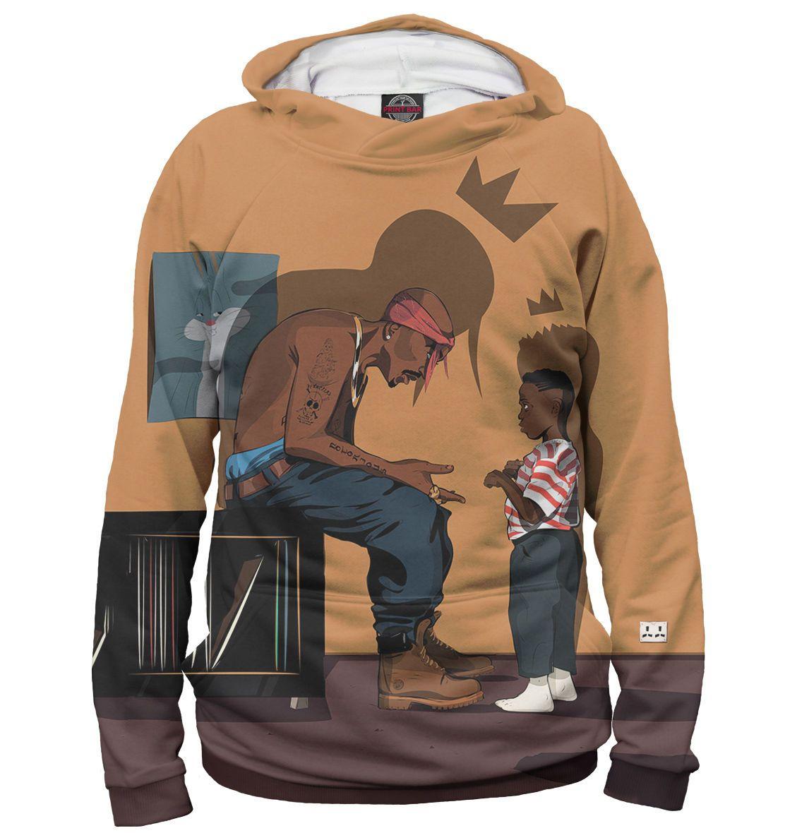 2Pac Exclusive Cool Man Hoodie Shakur Tupac Rap Hip Hop Music 6 Full Print  Pb b483221b5f5