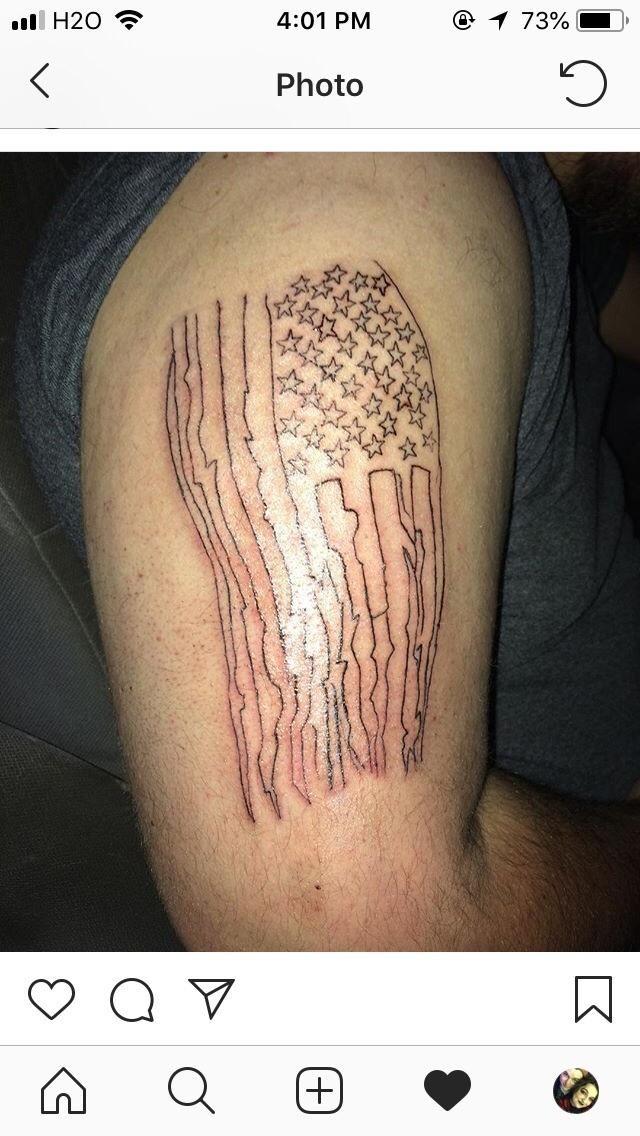 A true patriot badtattoos Funny tattoos, Bad tattoos