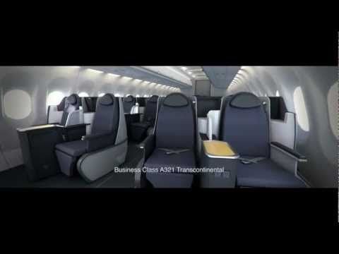 Interior tour of the aircraft cabins on american airlines new airbus and boeing   which will be in service dec also concorde factorydesign british airways boac bea pinterest rh