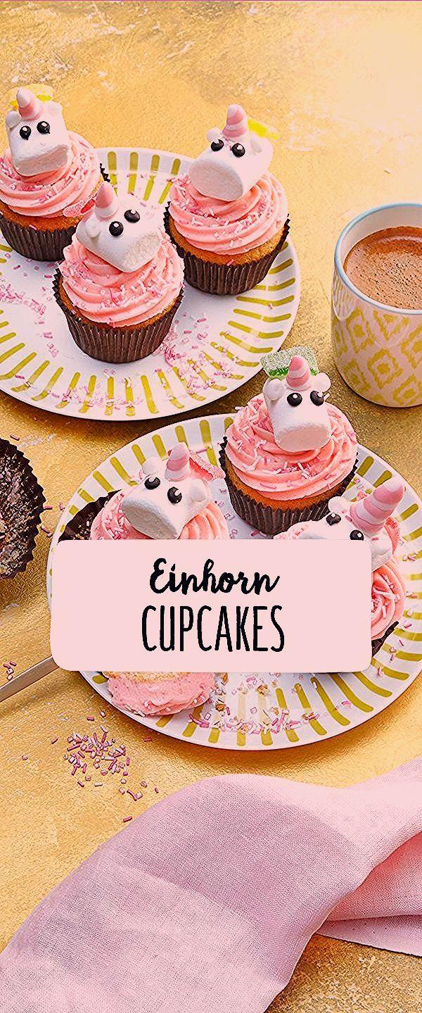 Einhorn Cupcakes Muffins Einhorn Unicorn Trend Trendfood Unicorn