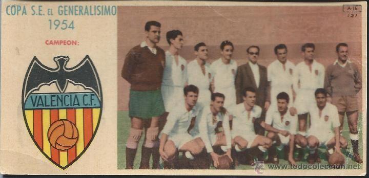 VALENCIA C.F. - 1954