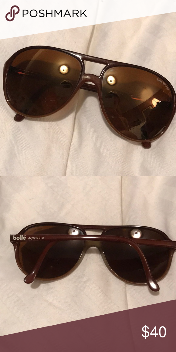 Sunglasses Serious Bolle Great Acrylex No Vintage Condition GqMVSUzp