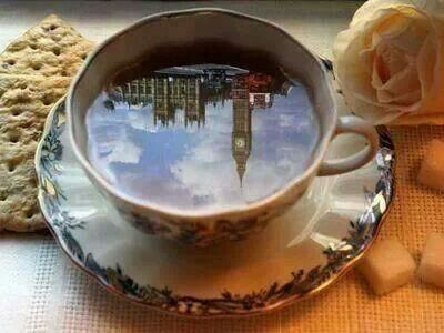 Have a cup of tea..