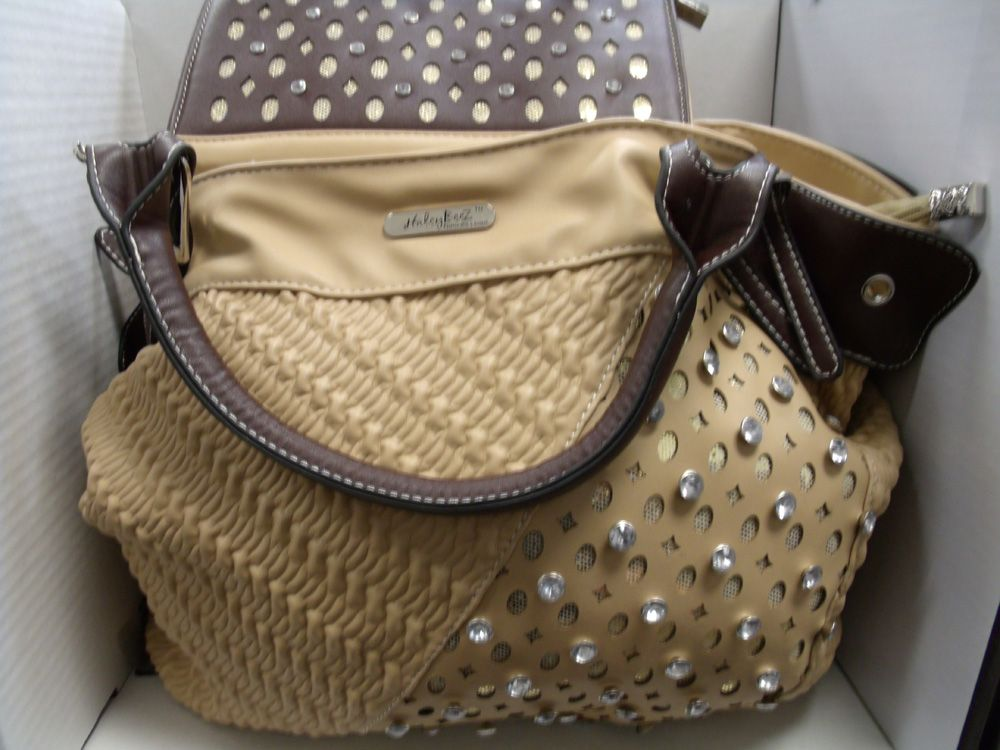 Rustic Couture Matching Handbag and Wallet GEDC0012