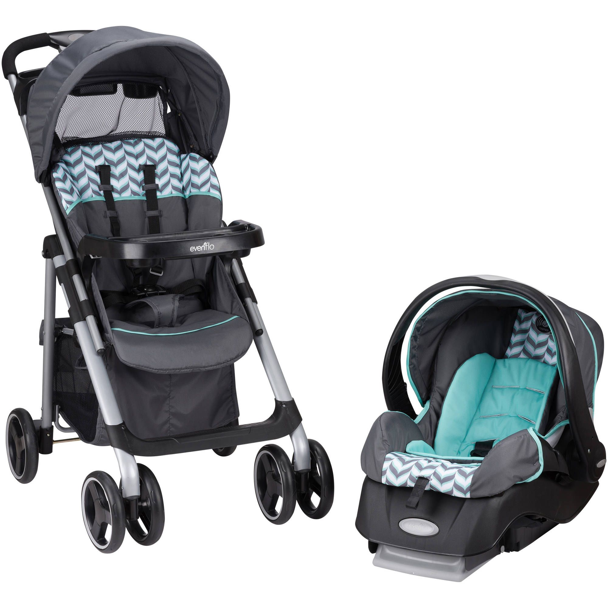 Evenflo Vive Travel System, Spearmint Spree Best baby