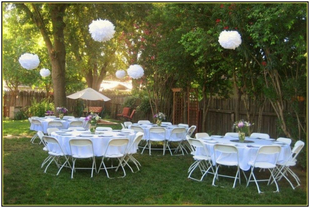 Cheap Backyard Wedding Decoration Ideas Retrosonik Cheap Outdoor
