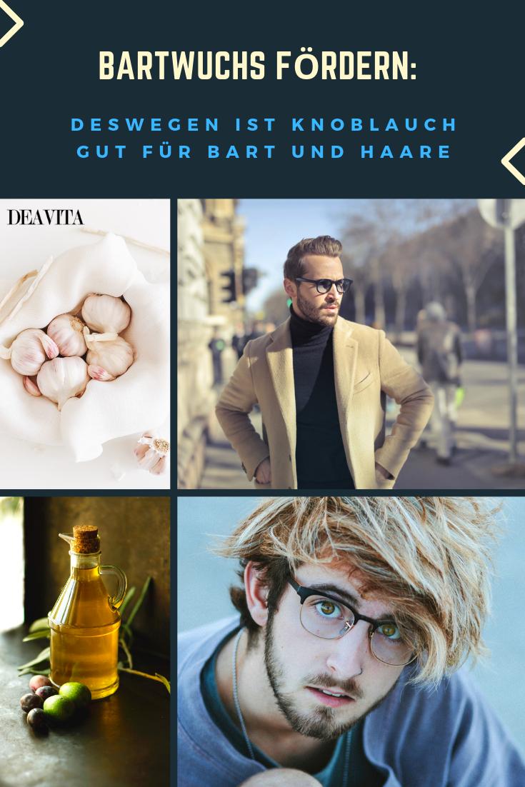 So kann man Knoblauch für Bartwuchs anwenden | Bartwuchs