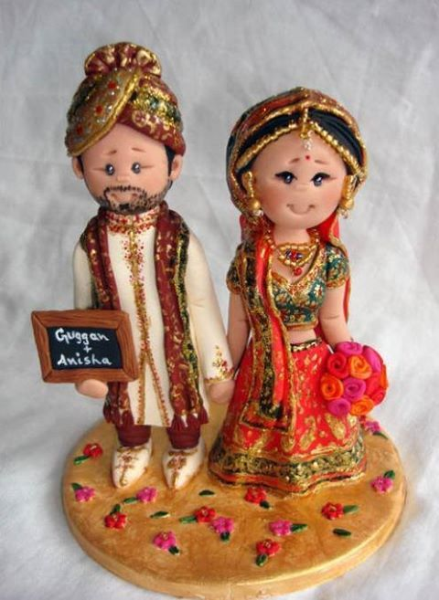 Great Little Indian People Cake Topper   So Fun!