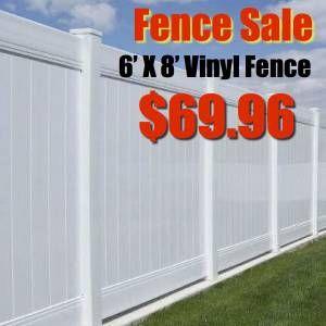South Jersey For Sale Vinyl Fence Craigslist Vinyl Fence Fence Vinyl