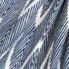 Tribal Navy Blue Chevron Fabric / Loom Decor