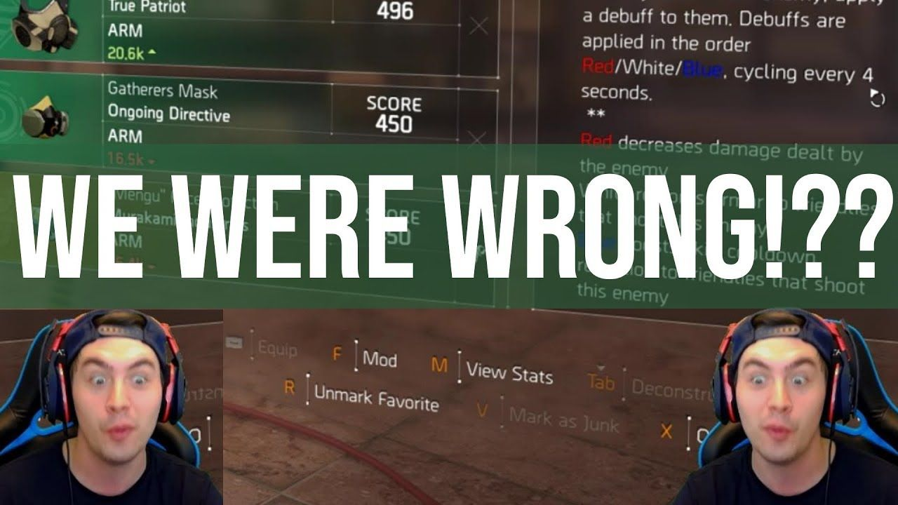 Were We ALL Wrong About Division 2 Gear Sets? | Games in 2019