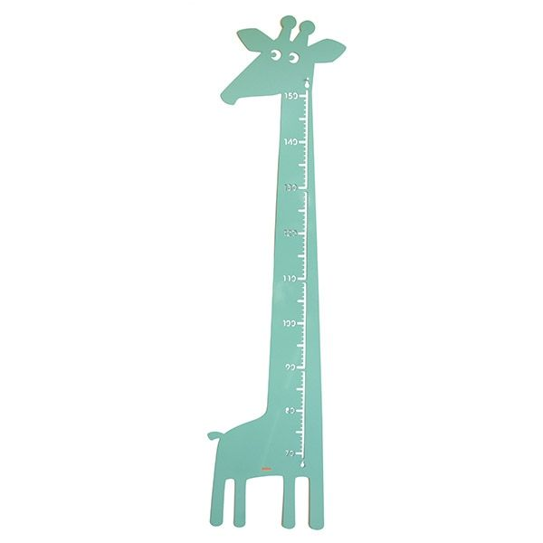 messlatte giraffe pastell gr n von roommate 67 00 kids room ideas kinder zimmer. Black Bedroom Furniture Sets. Home Design Ideas